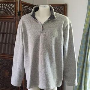 Beautiful G.H.Bass 1/4 zip fleece lined pullover